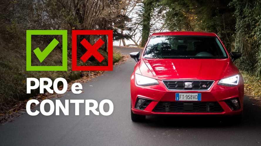 Seat Ibiza 1.0 TSI 116 CV DSG FR, pro e contro