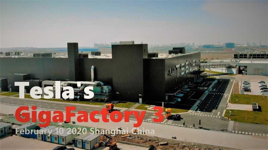 Tesla Gigafactory 3 Is Back Online: February 10, 2020 Video