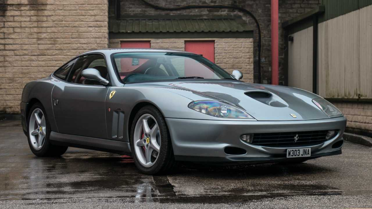 World Speed Record edition Ferrari 550 to be auctioned