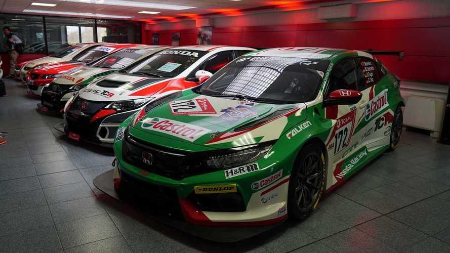 Así se convierte el Honda Civic Type R en un coche de carreras del TCR