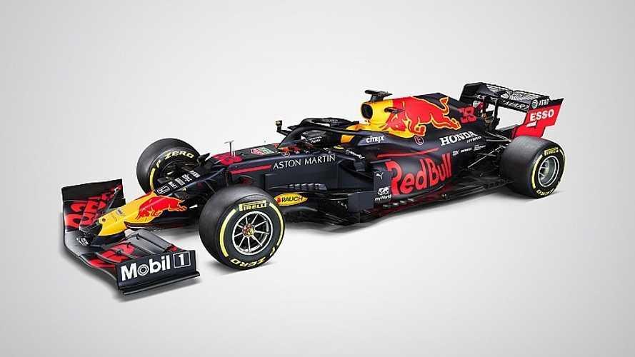 Red Bull Formula 1 takımı, 2020 sezonu için yeni aracını tanıttı