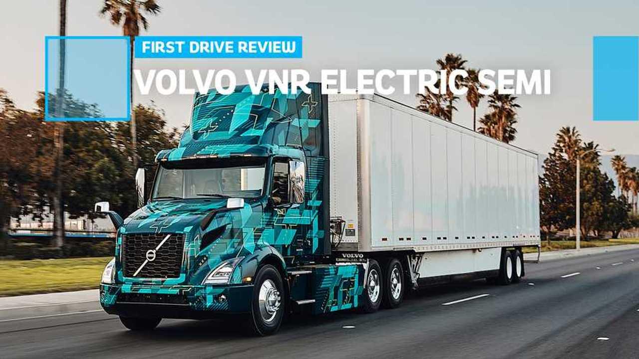 Volvo VNR Electric Semi