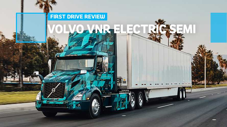 Volvo VNR Electric Semi First Drive Review: LIGHTS On The Road