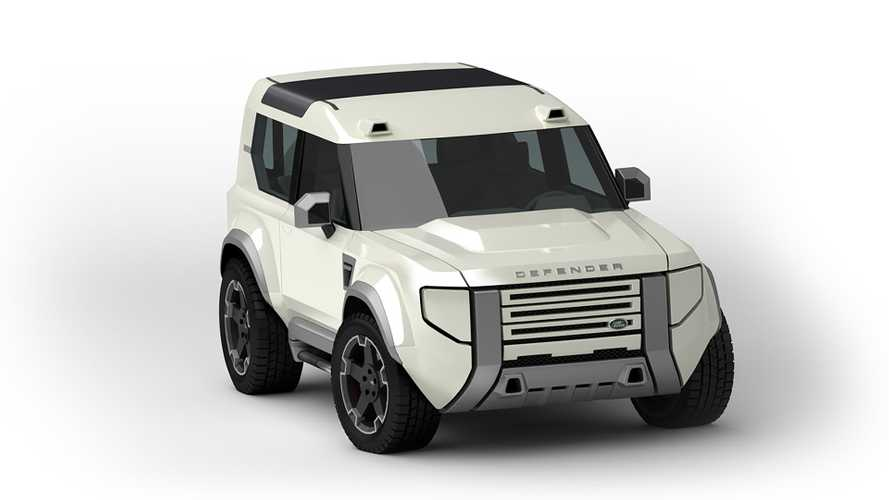 Land Rover Baby Defender Looks Off-Road Ready In New Renderings