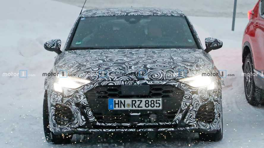 New Audi RS3 spy photos