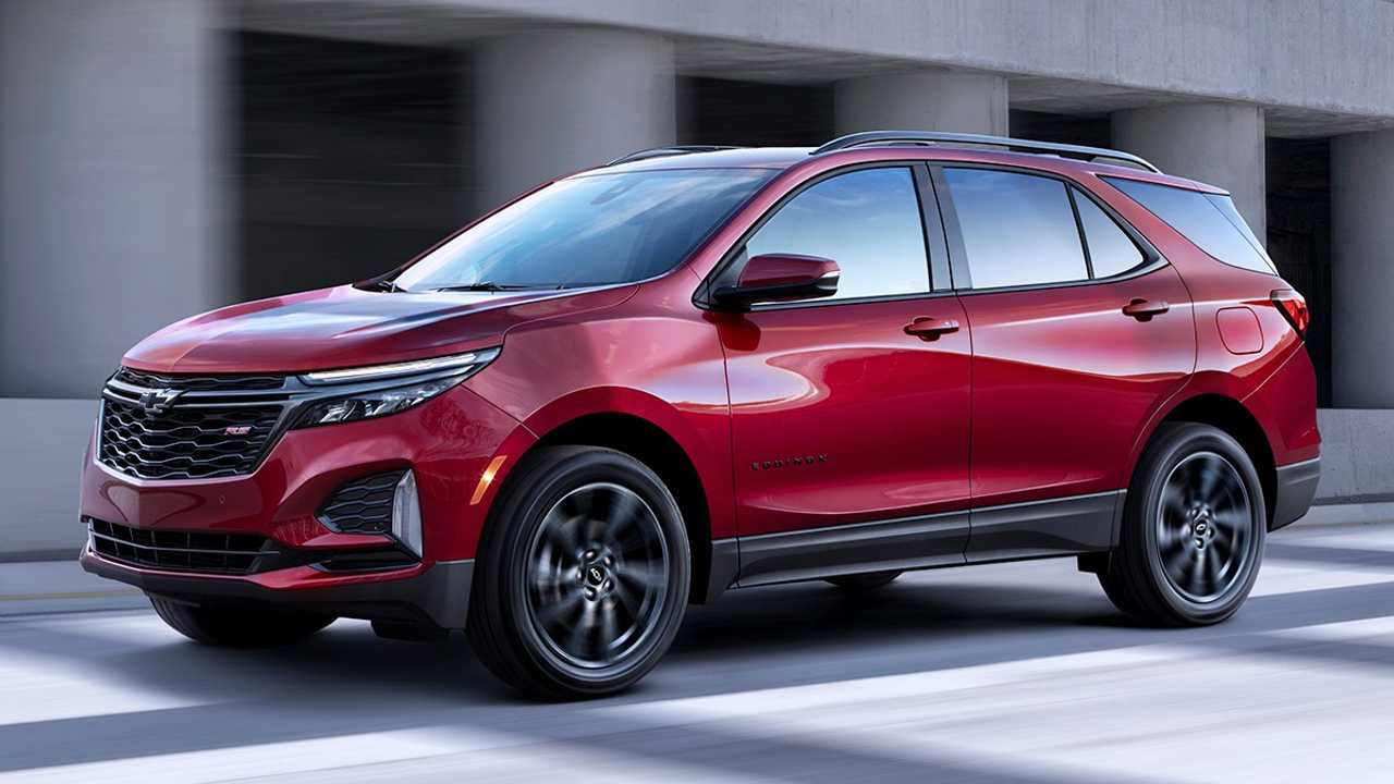 2021 Chevy Equinox Facelift
