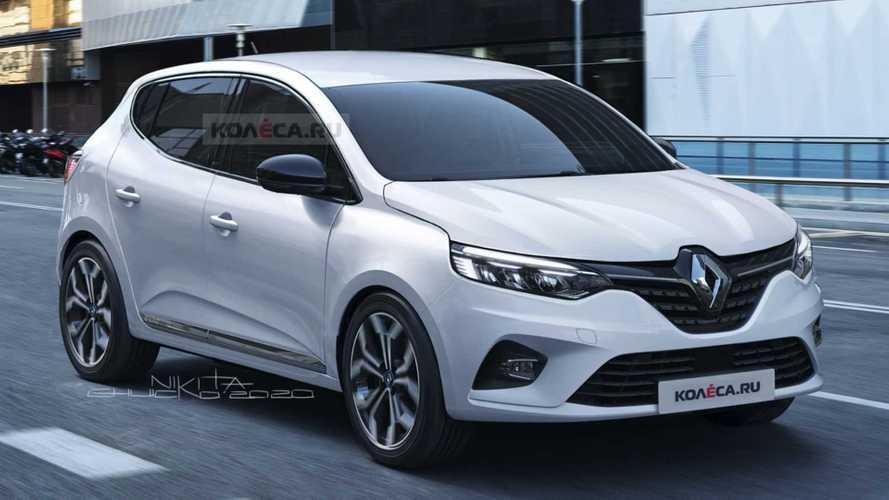 Projeção: Novo Renault Sandero 2021 terá mais identidade e refinamento