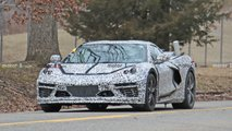 C8 Chevy Corvette Emissions Testing Spy Photos