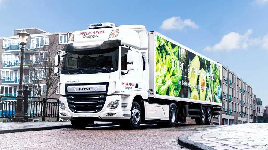 DAF Trucks, prove su strada per il CF Hybrid