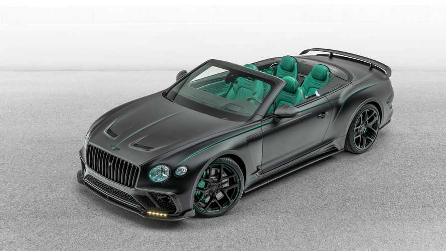 Bentley Continental GT V8 Cabrio Goes Green With Mansory Makeover