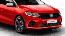 2020 Dacia Sandero rendering