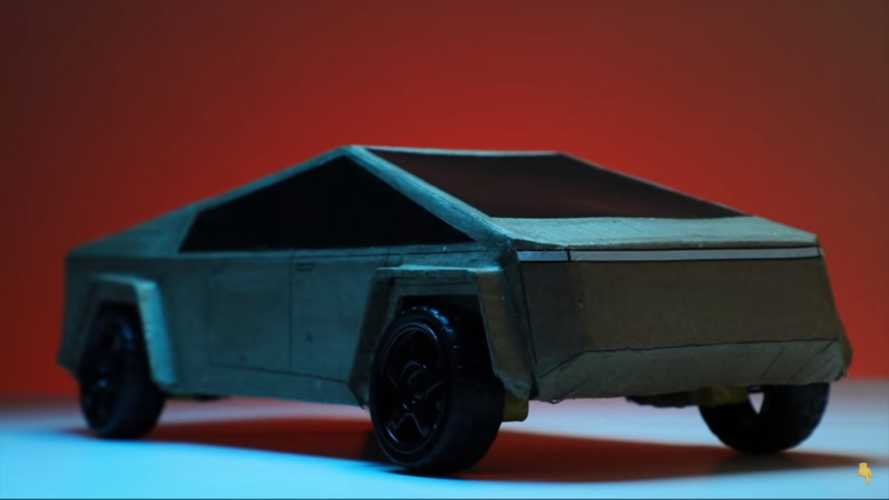 Grab Some Cardboard And Make Your Own Tesla Cybertruck