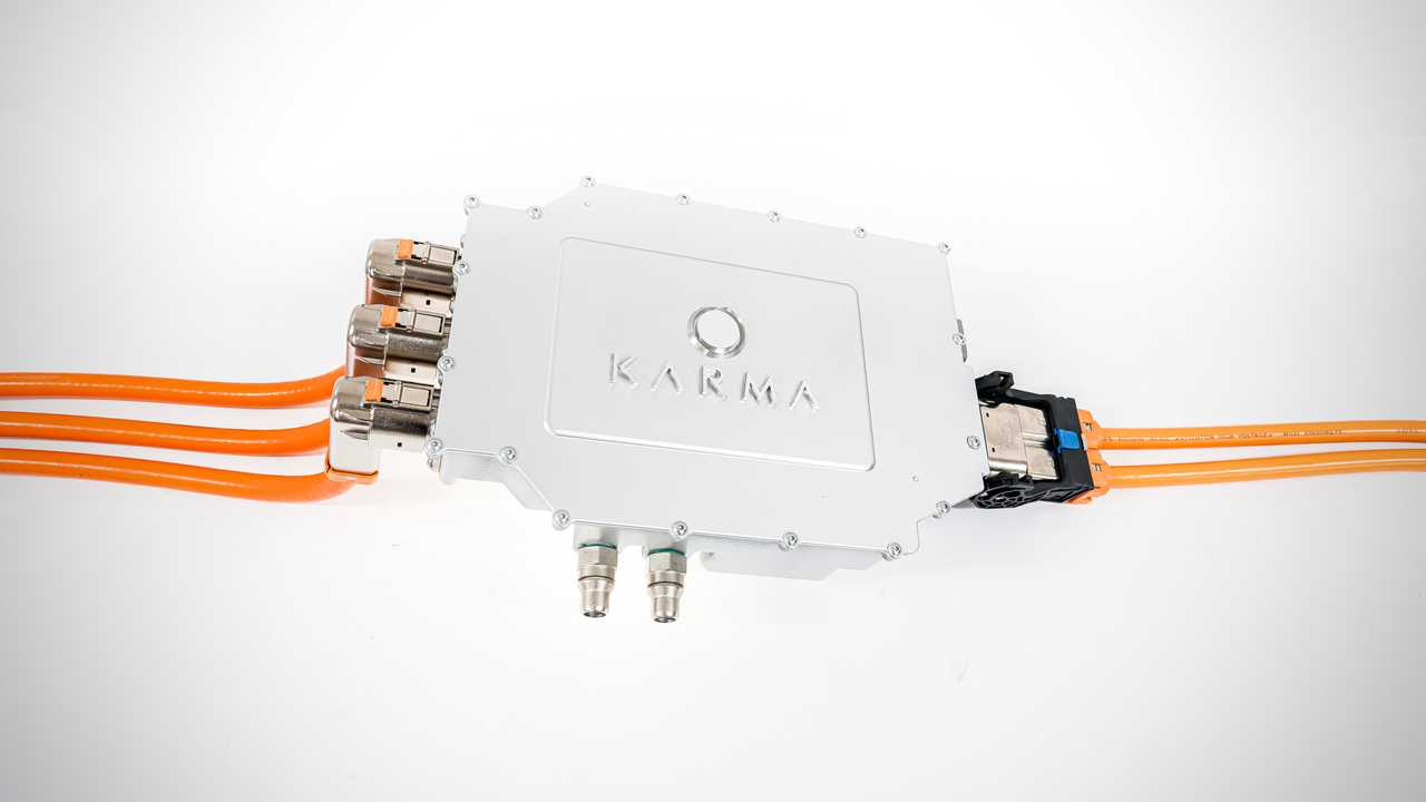 Karma Traction Inverter with Silicon Carbide Semiconductors (SiC)