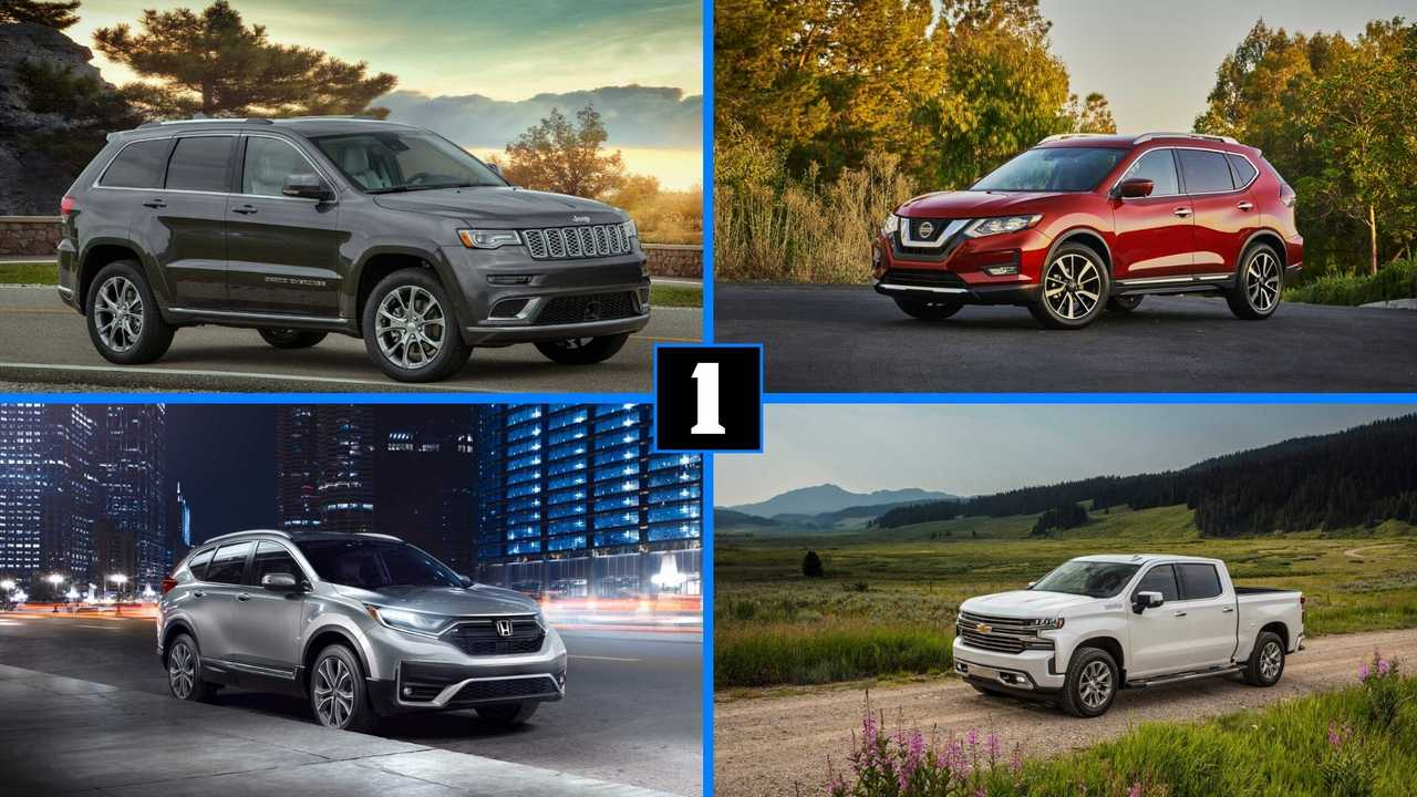 Best-Selling Cars, Trucks, And SUVs So Far In 2020