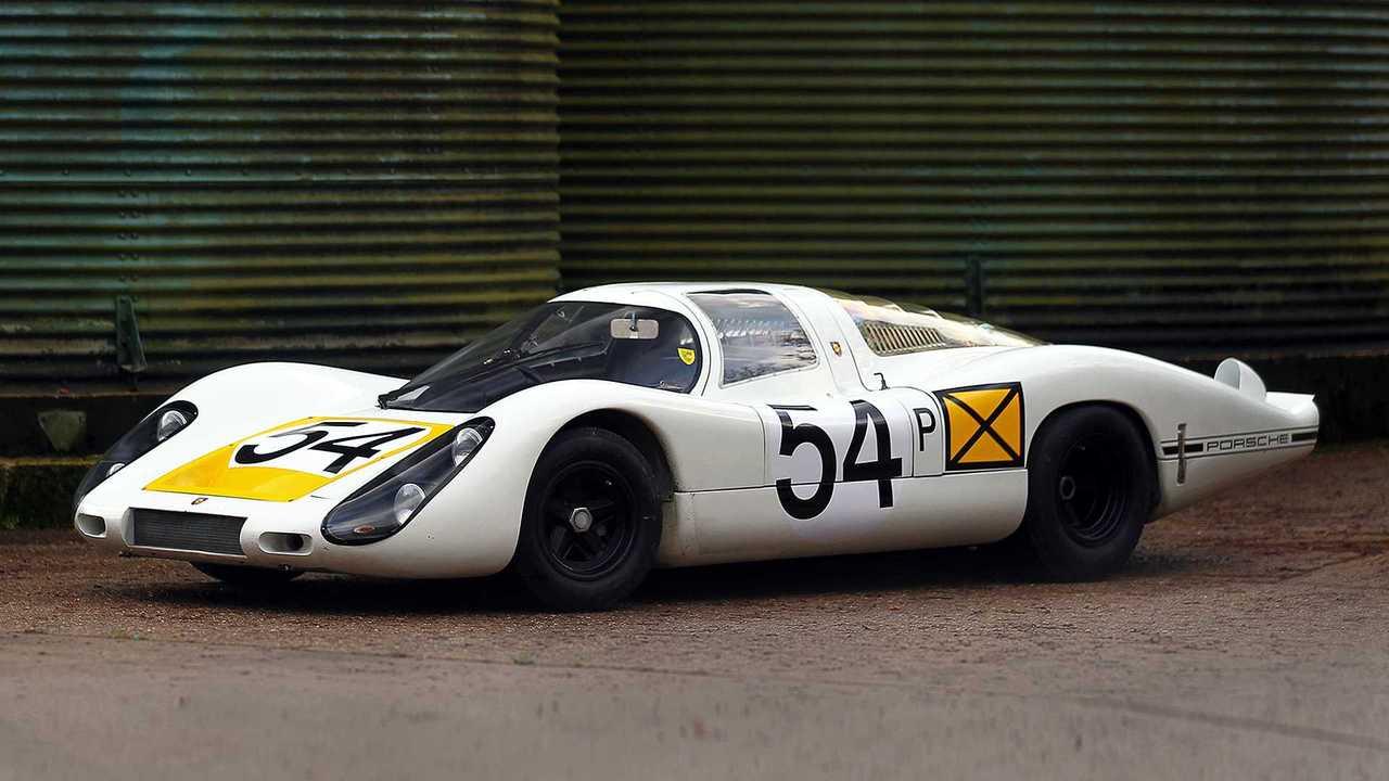 9 - Porsche 907 Longtail (1968) - 3,26 millions d'euros