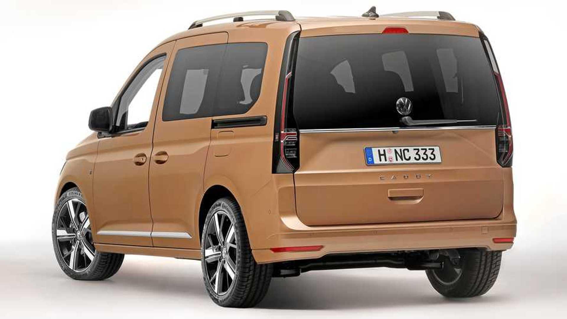 2020 VW Caddy Concept