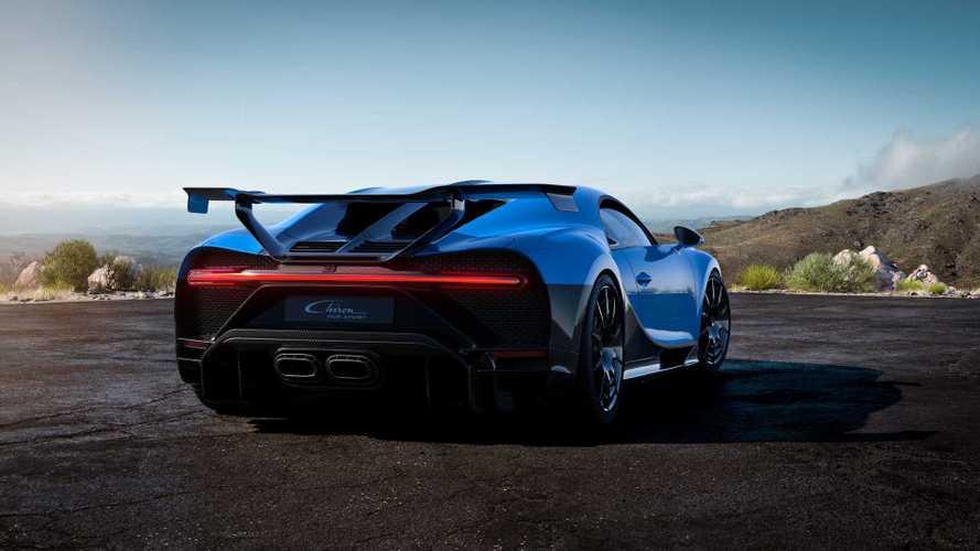 Bugatti Chiron Pur Sport: todavía más efectivo, ligero y exclusivo