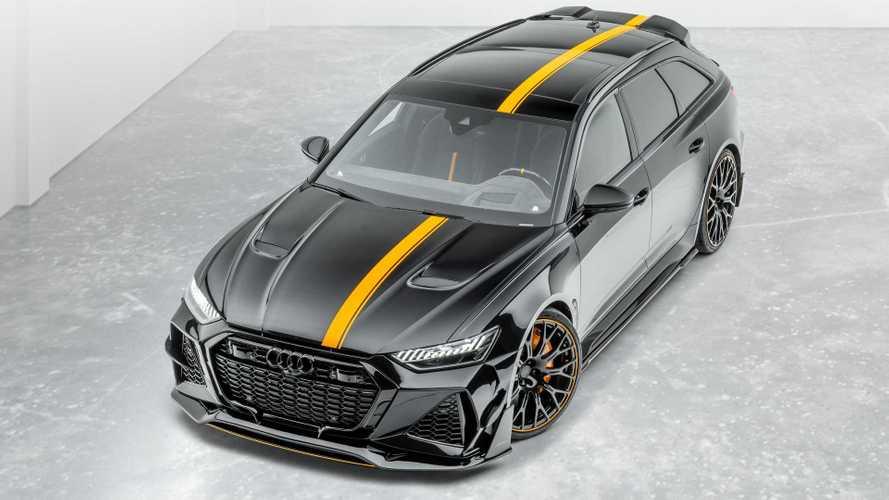 Az Audi RS6-ost is teljesen átszabta, és 700 lóerőre tolta a Mansory