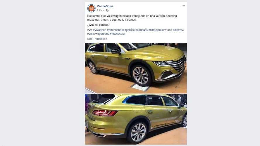 VW CC Travel Edition Leaks As China-Only Arteon Wagon, For Now