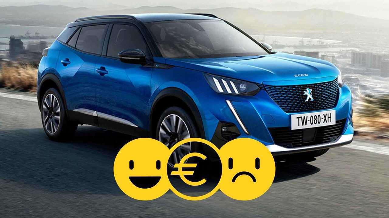 La Peugeot e-2008 à partir de 249 euros par mois