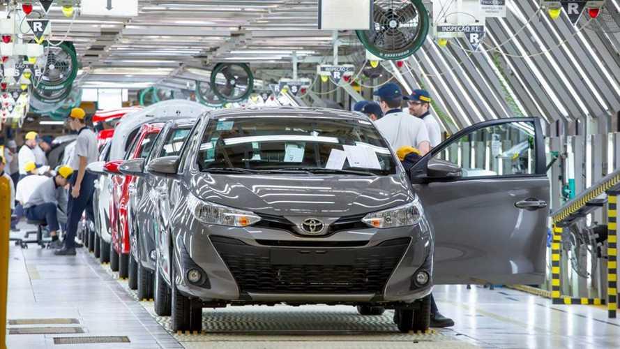 Chevrolet e Toyota adiam retorno da produção nacional para junho