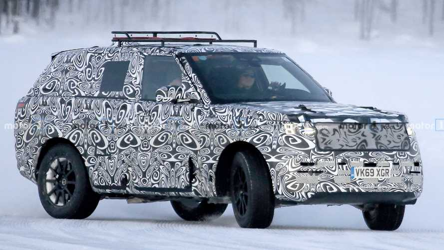 New Land Rover Range Rover Sport Spied For The First Time