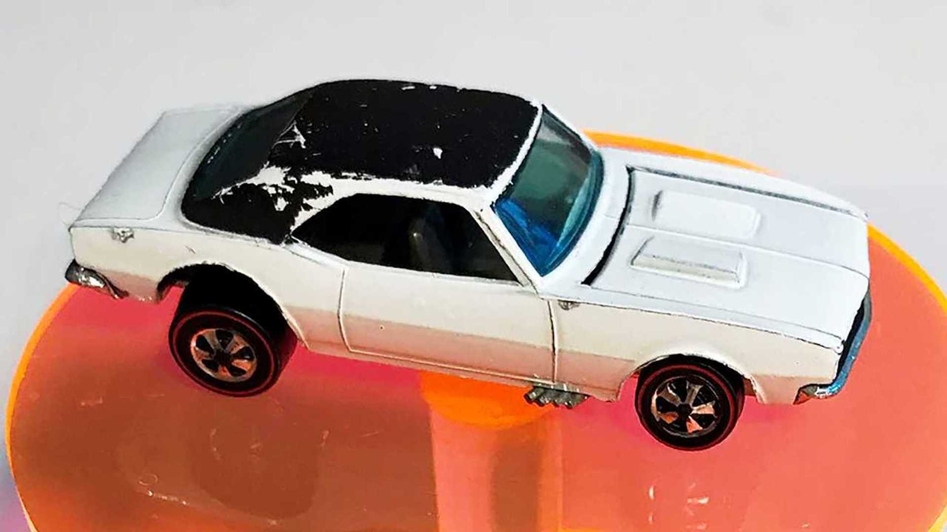 """[""""Man Finds Rare Hot Wheels Chevy Camaro Now Worth Over $100K""""]"""