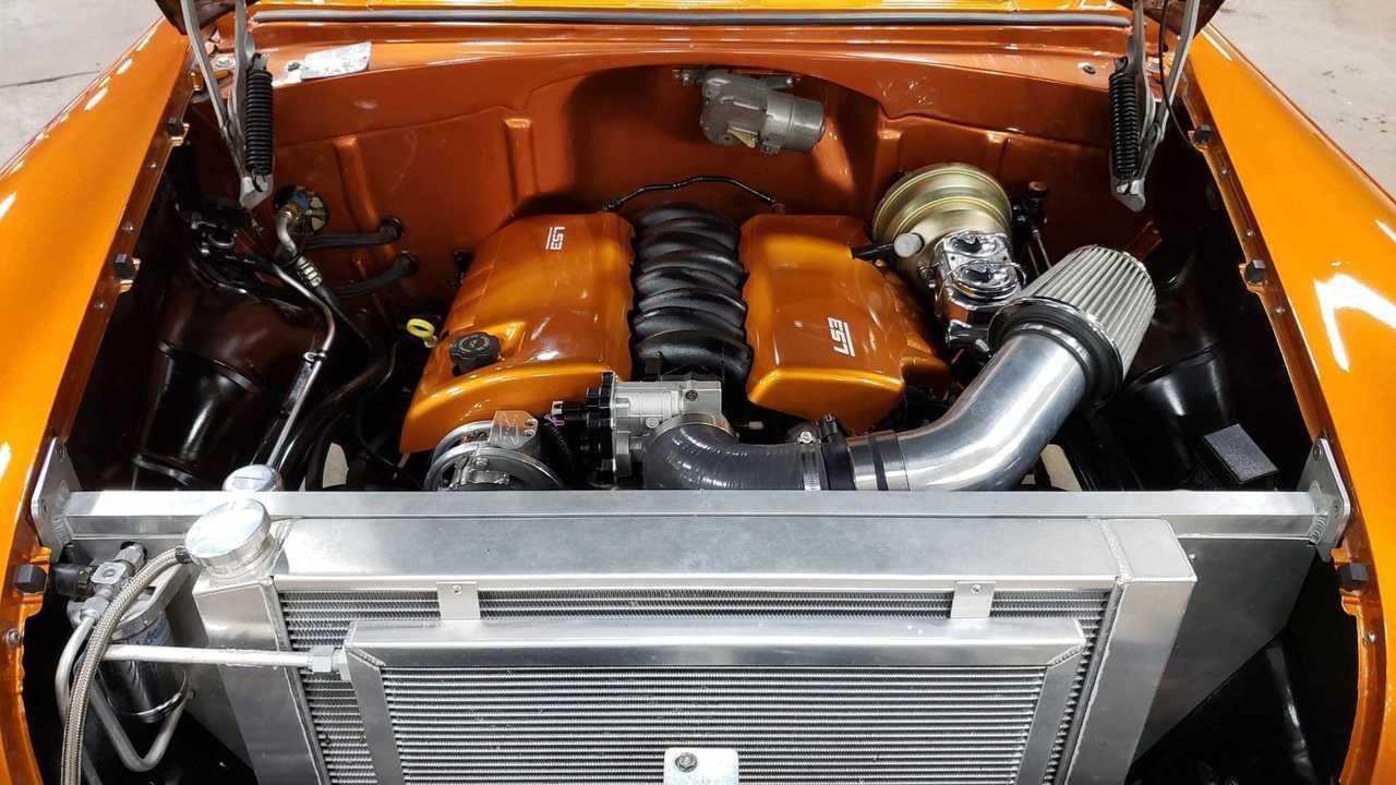 Own This LS-Powered 1955 Chevy 210 Handyman Wagon Restomod