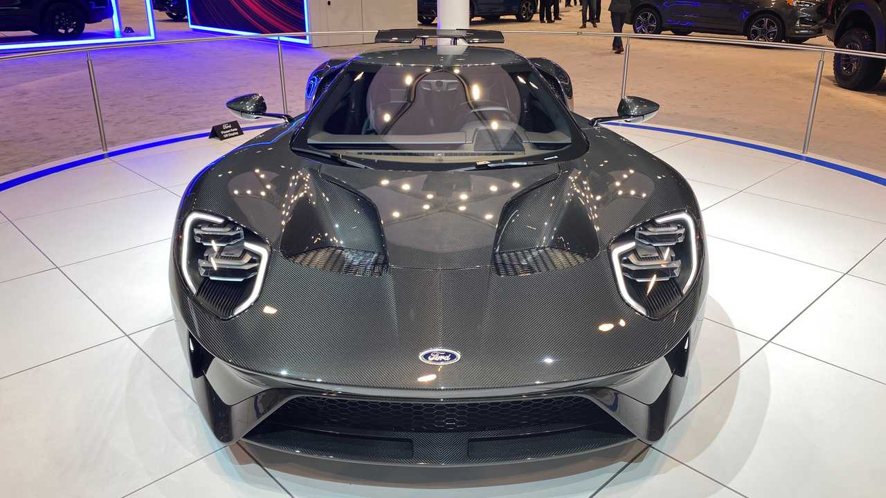 Ford GT Liquid Carbon Takes 3X Longer To Build Than Regular GT - Motor1