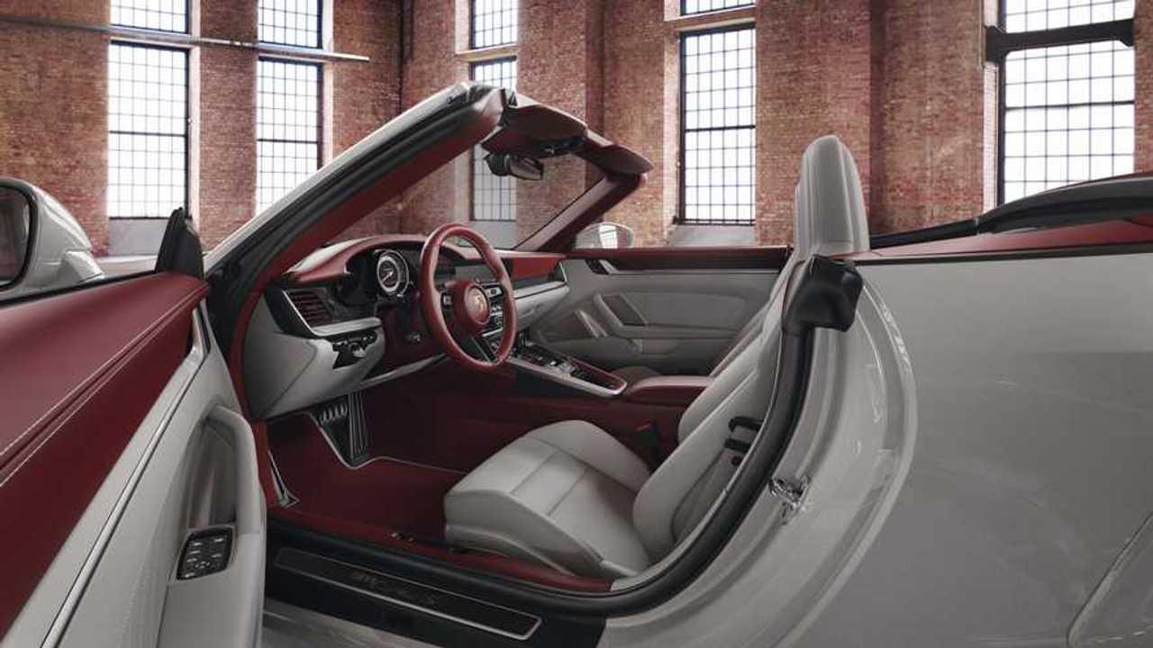 Porsche Exclusive Two-Tone 911 Interior