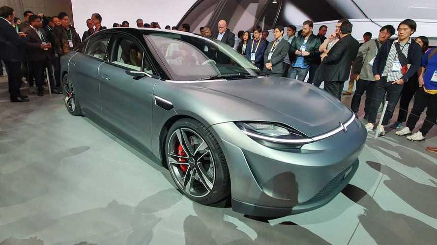 CES 2020: Sony surpreende e apresenta o carro 100% elétrico Vision-S