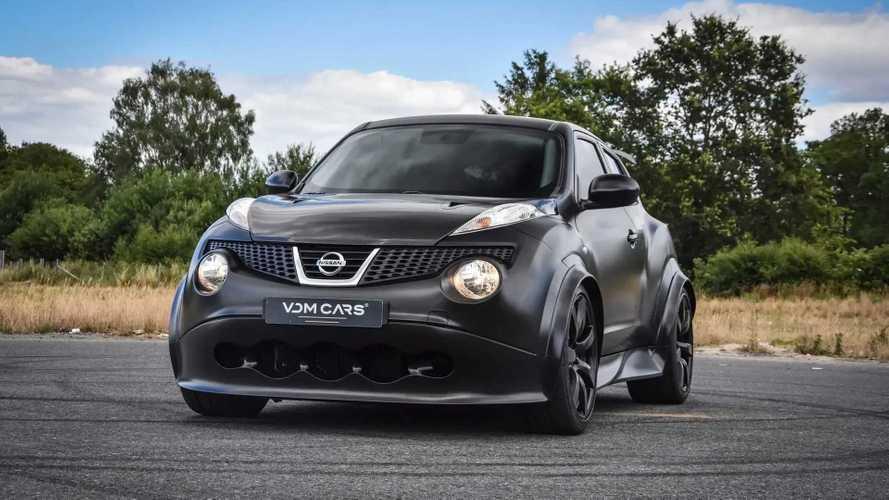 A la venta un Nissan Juke-R extraoficial, con 700 CV de potencia