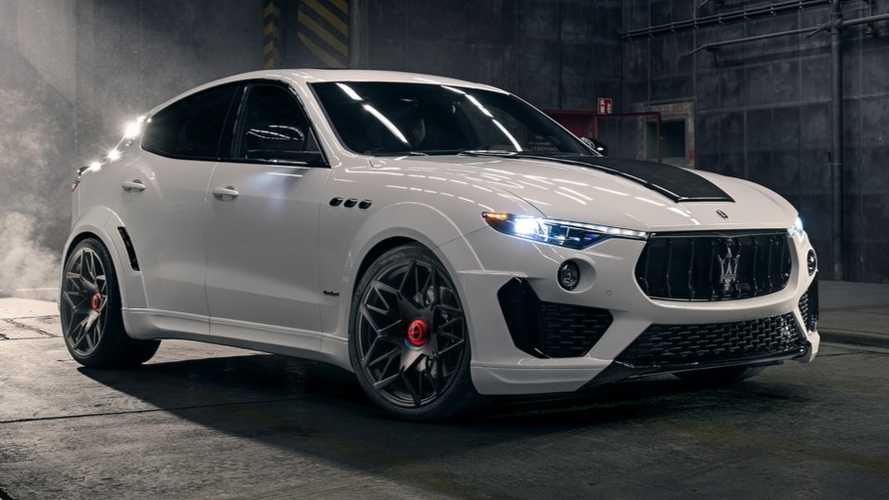 Novitec Maserati Levante Esteso Is One Angry SUV With 616 HP