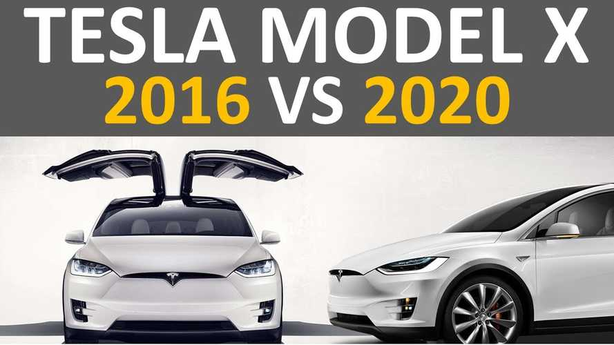 2016 Vs 2020 Tesla Model X: What's Improved? Changes Charted