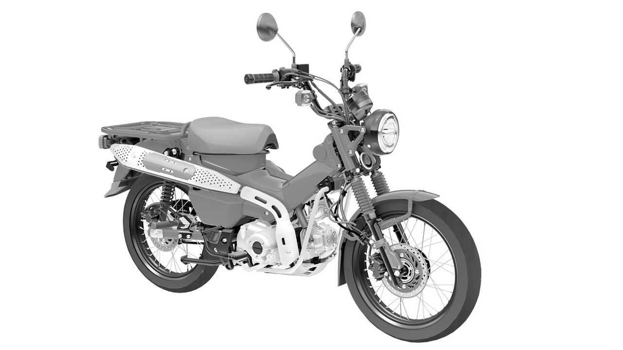 Honda CT125 Patent Designs