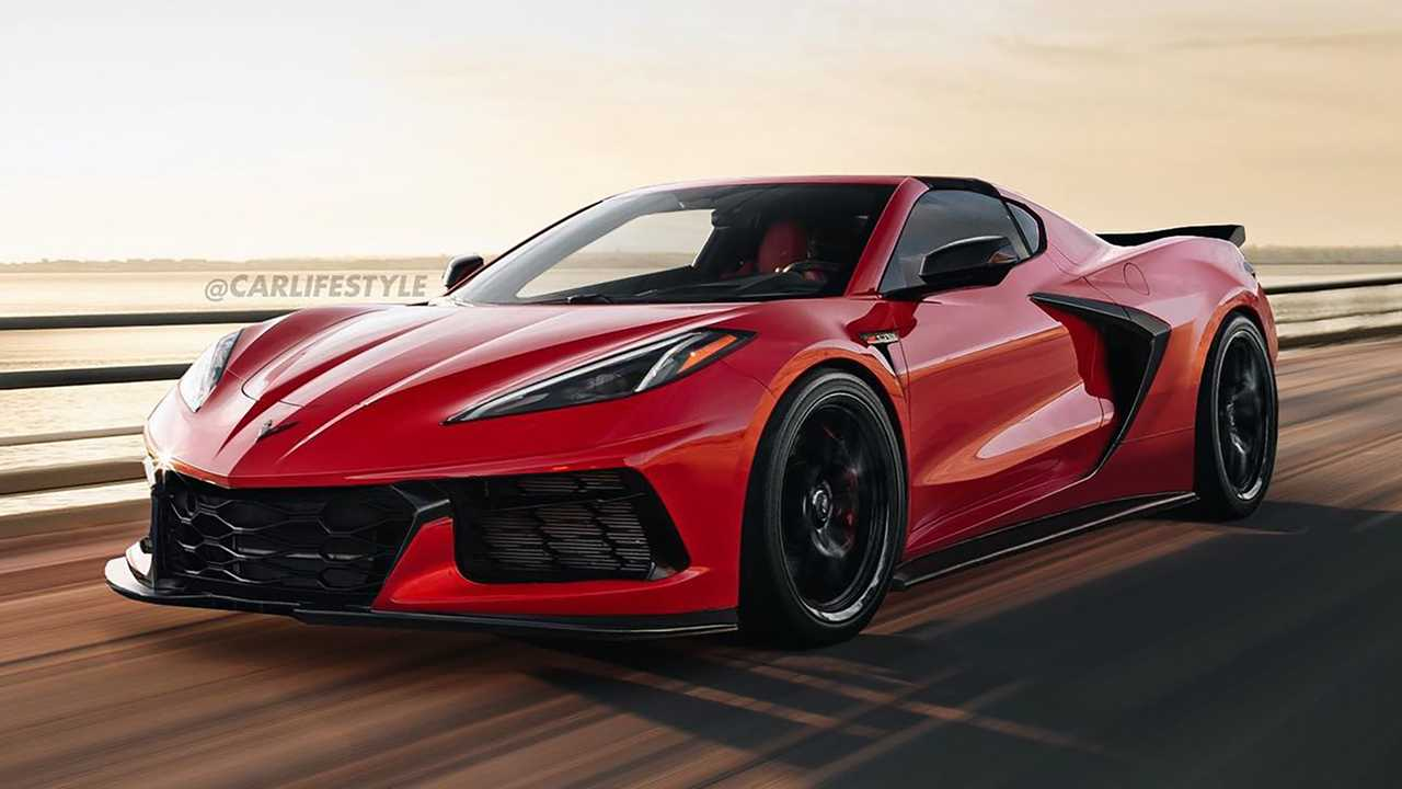 Chevy Corvette Z06 Rendering Shows Off A Sleek Supercar - Motor1