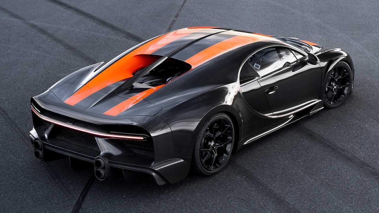 9. Bugatti Chiron Super Sport 300+ (2021) - 4,2 millones de euros