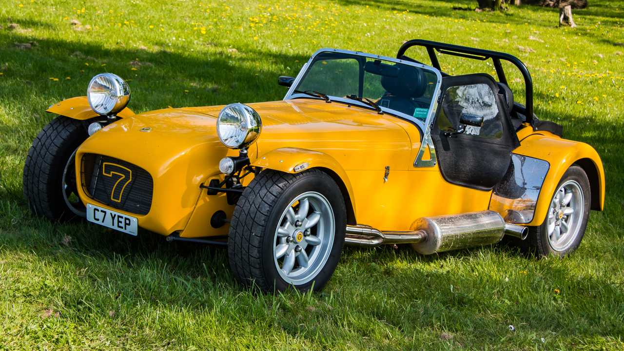 Caterham Seven at Donington Leicestershire UK