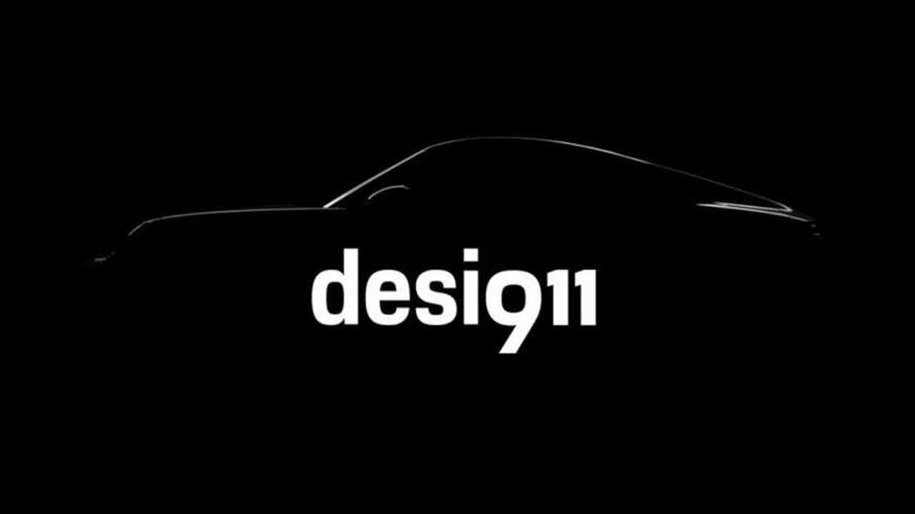 2020 Porsche 911 teaser
