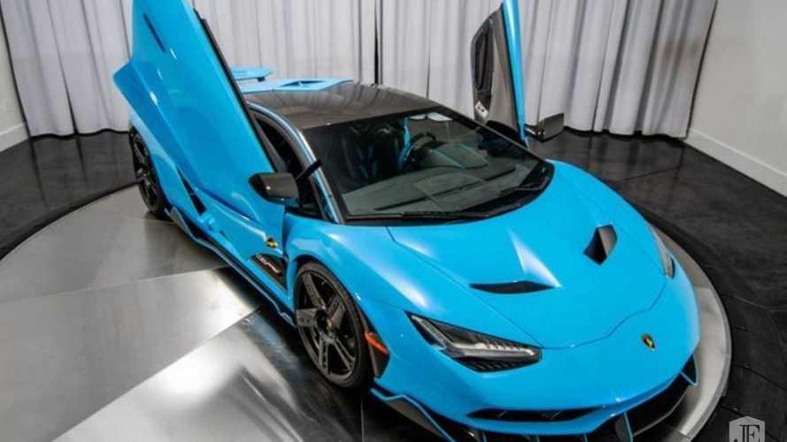L'une des 20 Lamborghini Centenario est à vendre aux USA