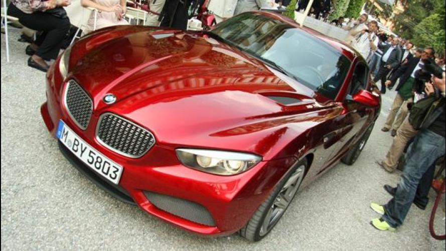 """BMW Zagato Coupé, la """"Z"""" lascia il segno a Villa d'Este"""