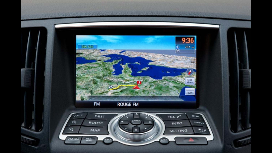 Infiniti: debutta a Ginevra il sistema in-car infotainment