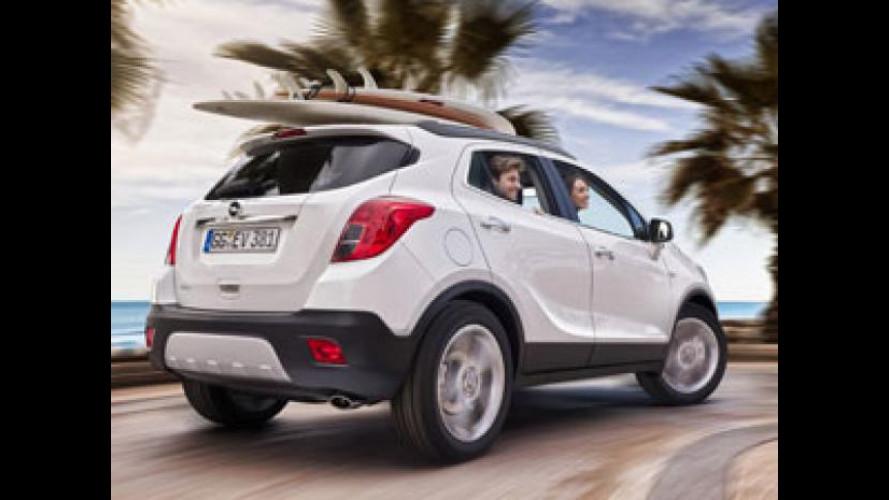 Opel Mokka, 80.000 ordini in tutta Europa