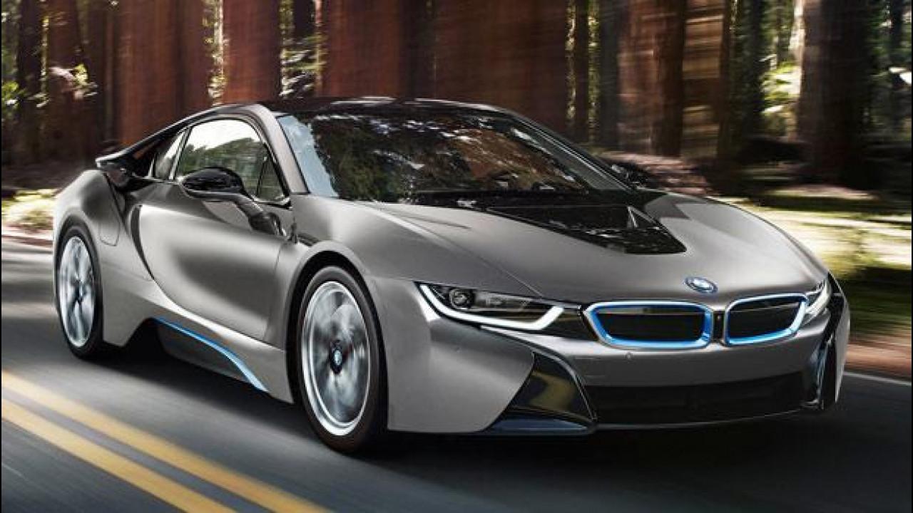 [Copertina] - BMW i8, un esemplare unico all'asta in California
