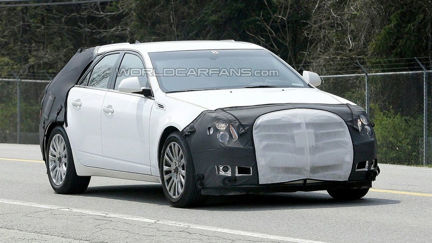 Cadillac CTS Wagon Caught