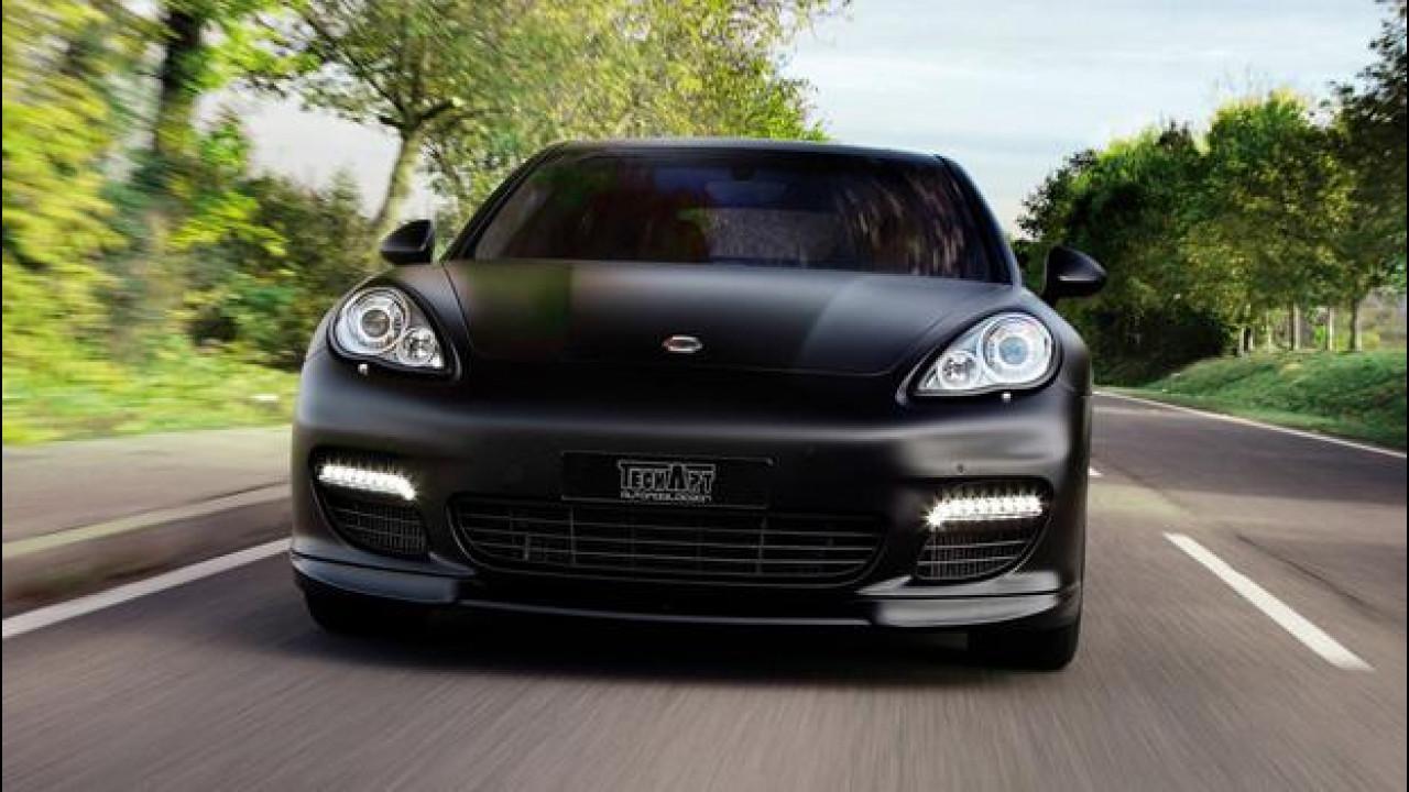 [Copertina] - Techart powerkit per Porsche Panamera Diesel