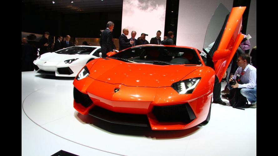 Viavai di VIP per Lamborghini a Ginevra