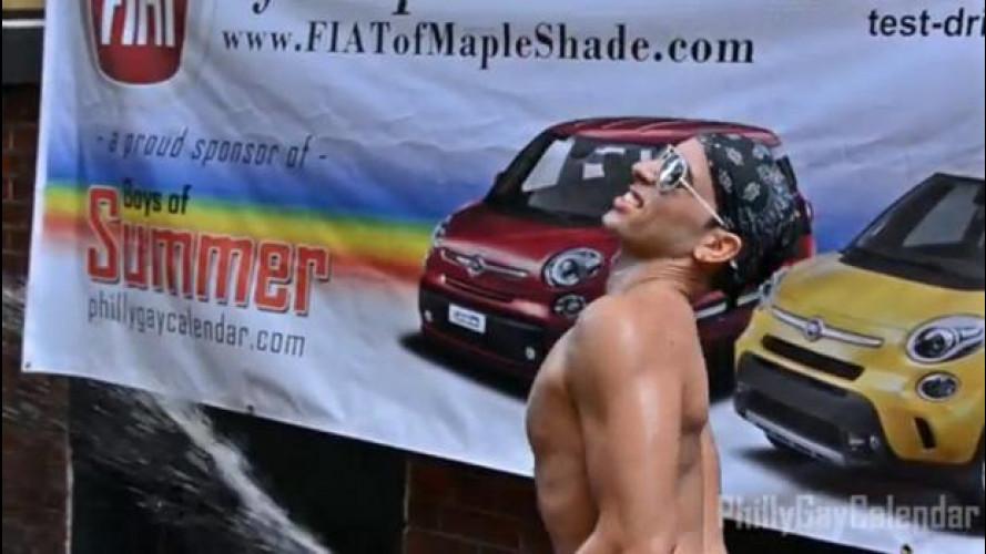 Fiat negli USA si inventa il Sexy Car Wash... al maschile!