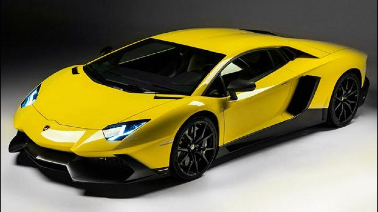 [Copertina] - Lamborghini Aventador LP720-4 50° Anniversario: debutto a Shanghai