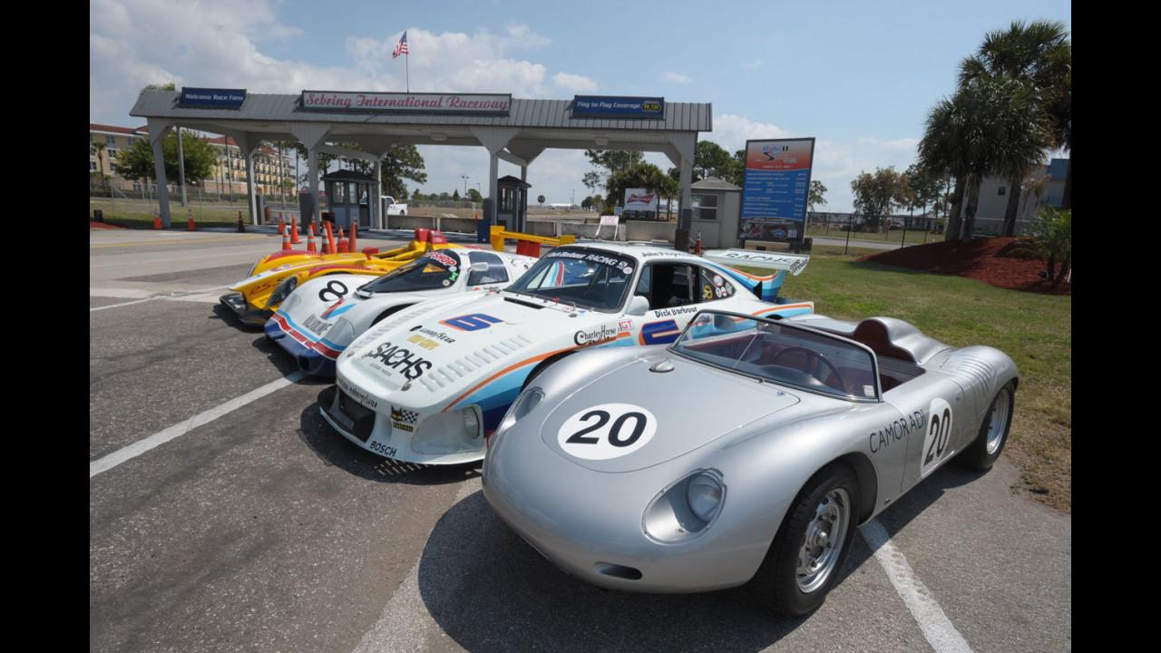 Porsche da corsa alla 12 Ore di Sebring